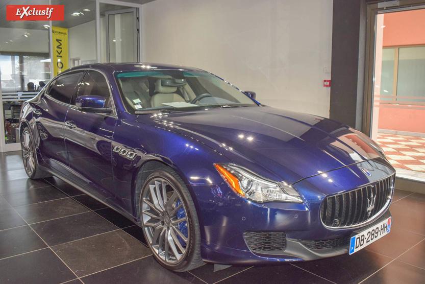Une belle Maserati Quattroporte, également une occasion à 130 000 euros
