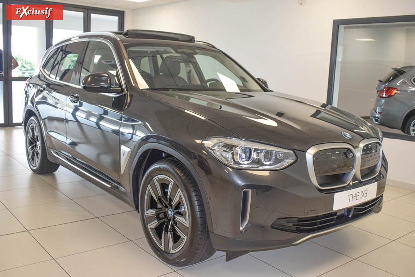 BMW  iX3: le nouveau SUV 100% électrique