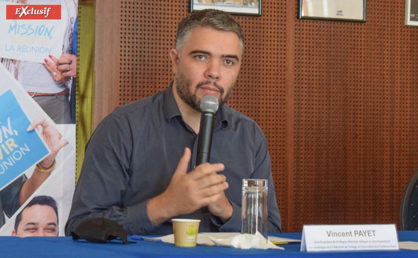 Vincent Payet, vice-président de la Région