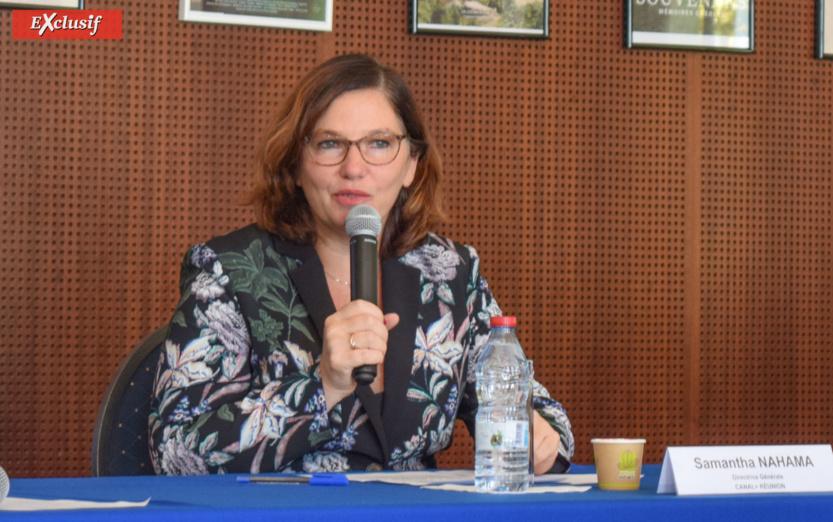 Samantha Nahama, directrice générale de Canal+ Réunion