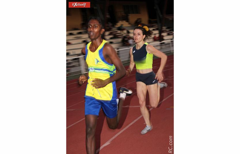 Lise Thimon impériale sur le 800 m avec les garçons