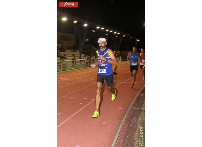 Jean-Marie Cadet  a gagné «son» 3000 mètres sur un joli sprint parti d'assez loin