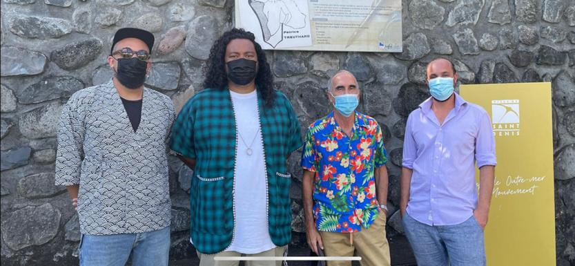 Kid Kreol & Boogie, Patrice Treuthardt et Stéphane Hoarau