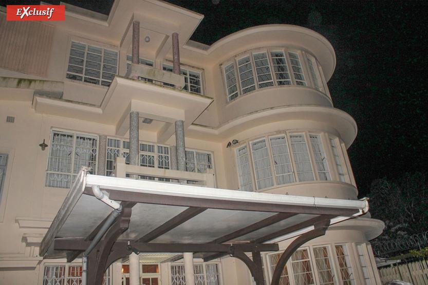 A la résidence de Sir Anerood Jugnauth