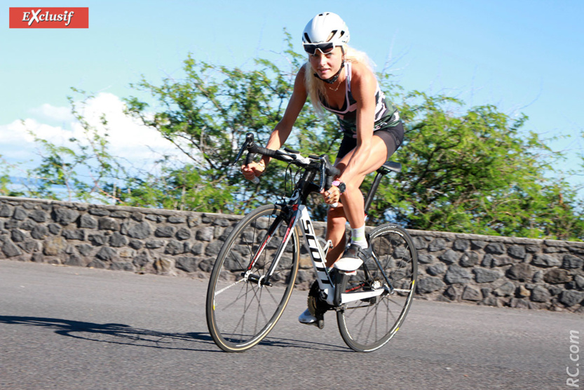 Beaucoup de vélo sur la côte Ouest de l'île