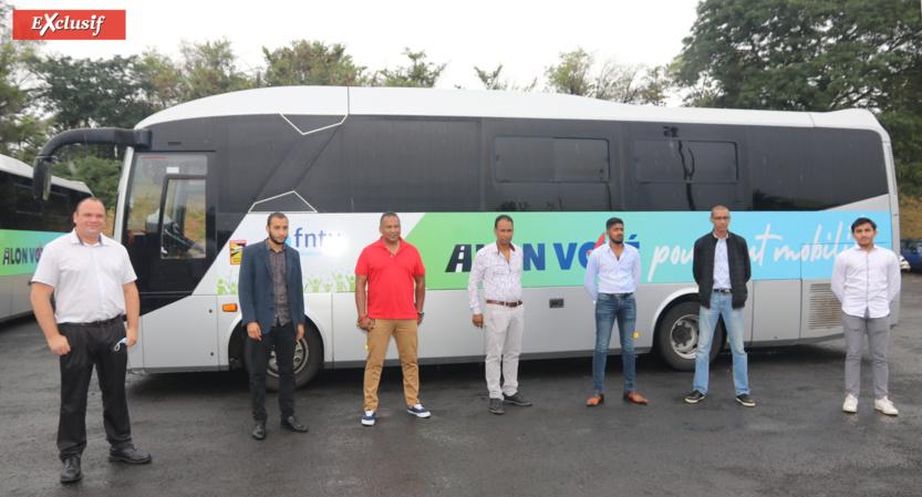 Quelques transporteurs adhérents de la FNTV Réunion