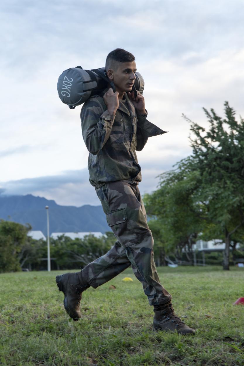Journée nationale des blessés de l'Armée de Terre au 2ème RPIMA