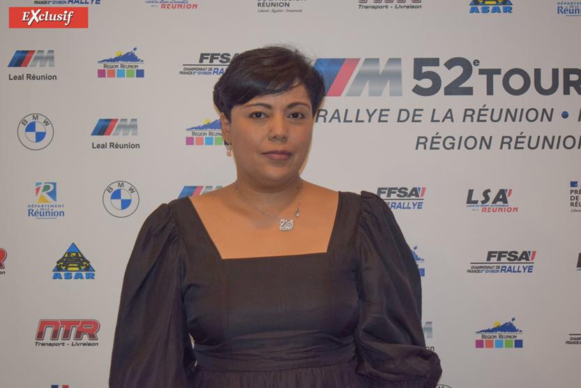 Muriel Rajoel, présidente de l'ASA Réunion, également co-pilote à l'occasion