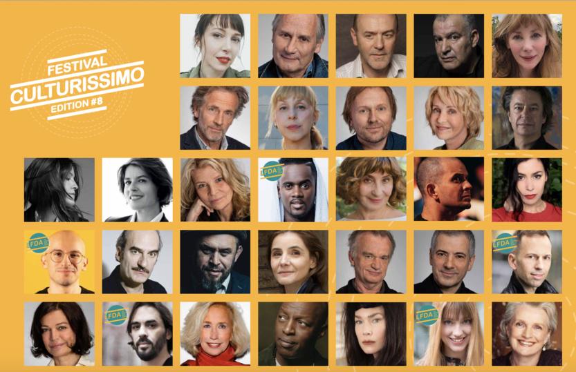 Au programme de ce festival, des événements littéraires et musicaux dans des théâtres et lieux culturels, en présence de comédiens et artistes prestigieux