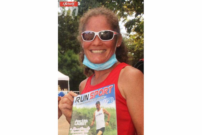 Clarine Morel en 3ème position: «Merci a vous d'avoir imaginé ce beau parcours . Beau challenge. Bravo à tous!»