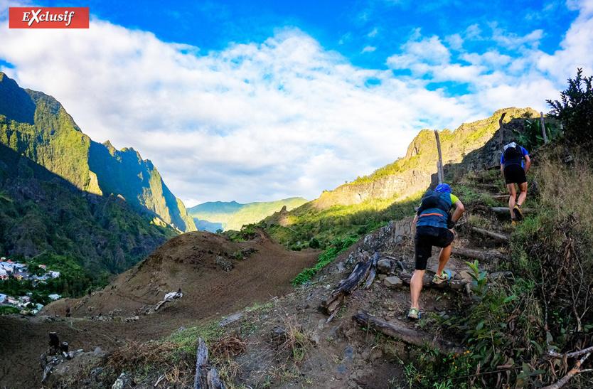 De magnifiques paysages sur ce parcours de Cilaos Run 2021