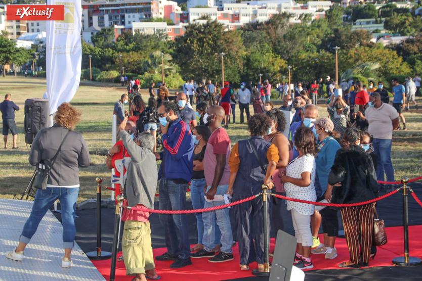 Dès l'ouverture, il y avait beaucoup de monde...