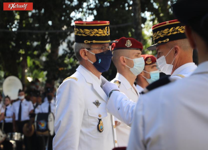 Le général Pierre Poty a été fait officier de la Légion d'Honneur