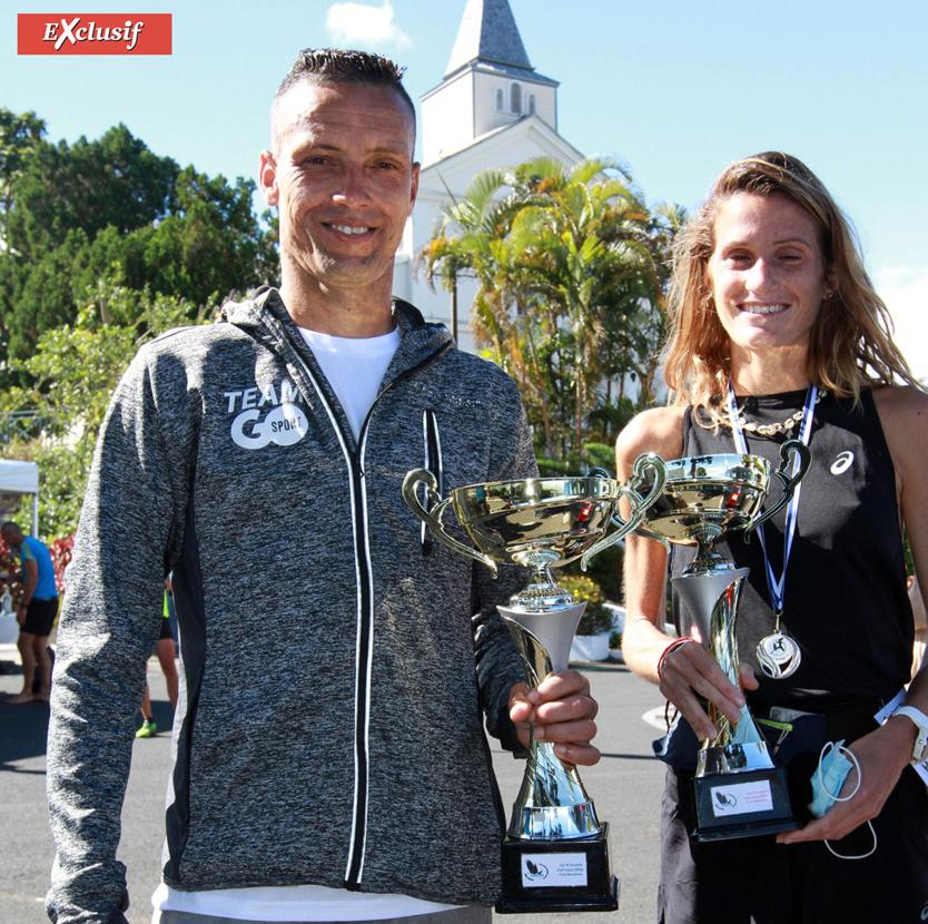Duo de champions avec Didier Barret et Victoria Devouge (Team VAKOA)