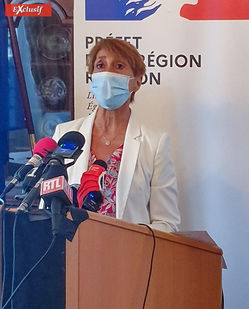 """""""Le variant Delta est 6 fois plus contagieux, d'où l'explosion des chiffres"""" dit Martine Ladoucette"""
