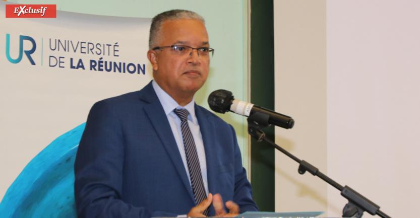 Cyrille Melchior, président du Département