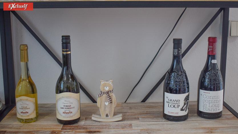 Des vins de qualité sont proposés