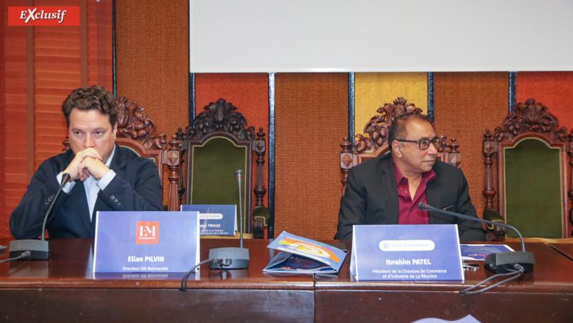 Elian Pilvin et Ibrahim Patel