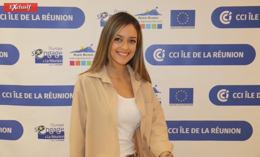 On termine avec le magnifique sourire de Morgane Lebon, Miss Réunion 2019, qui n'est pas à l'EM mais présente une émission pour la CCIR et continue ses études au Tampon. Preuve que Miss Réunion mène à tout!