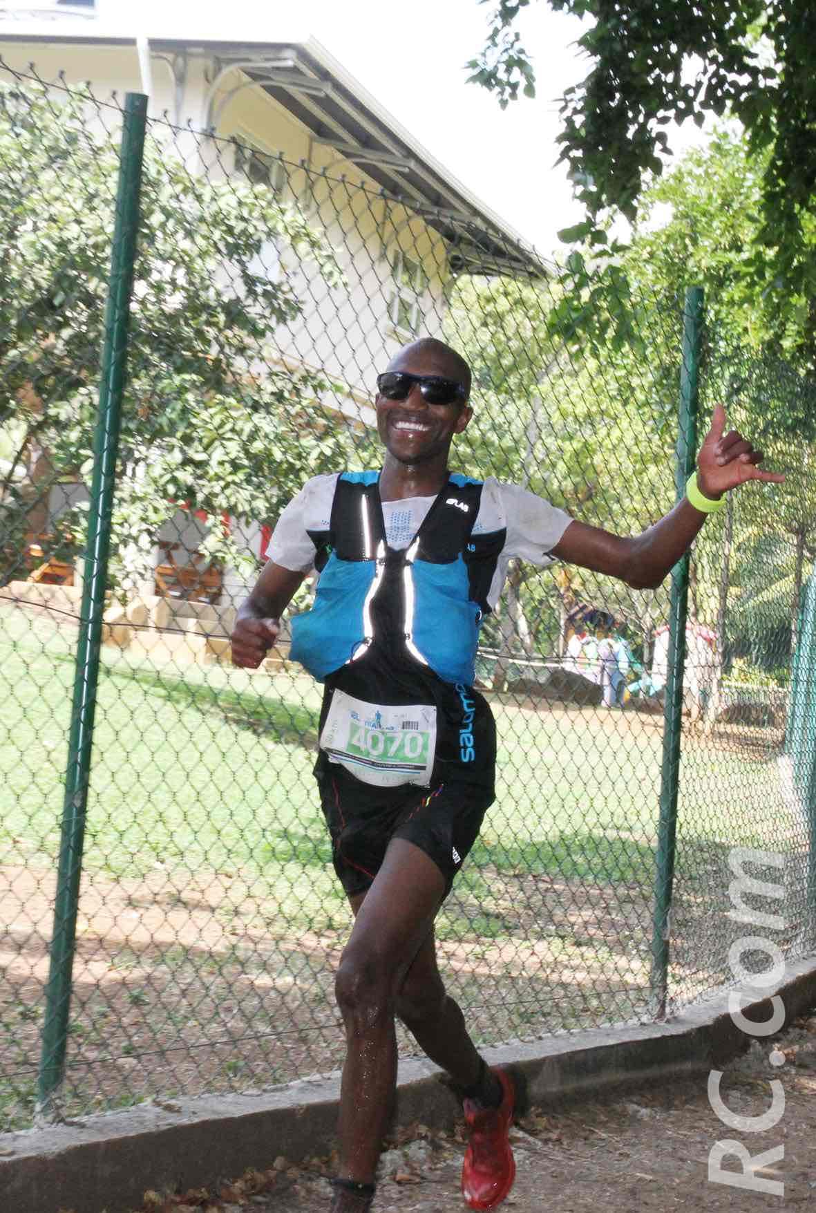 Le Sud-Africain Thabang Madiba, 3ème de l'Xtrem