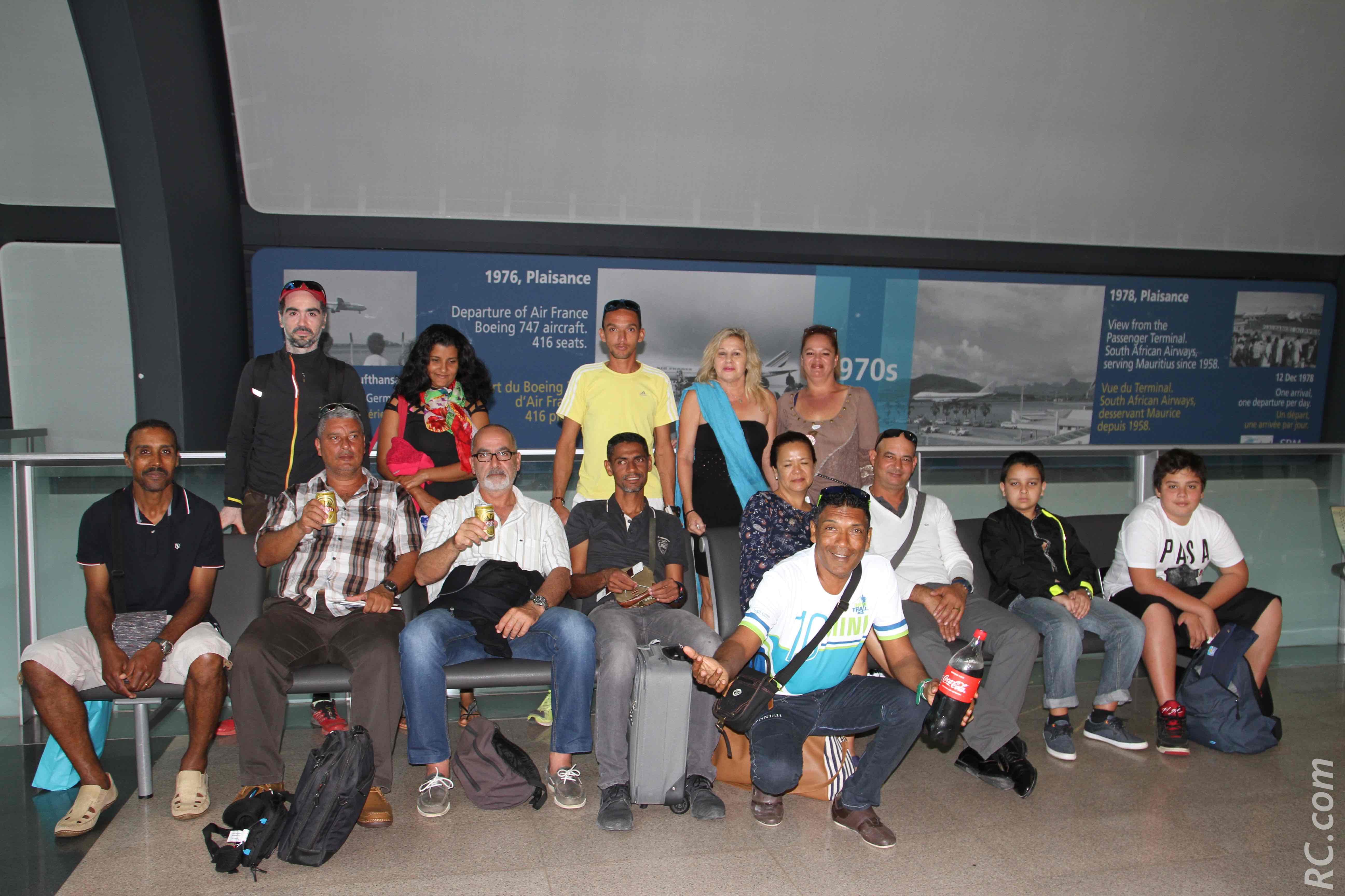L'équipe du CAPC qui a participé au Dodo Trail 2017