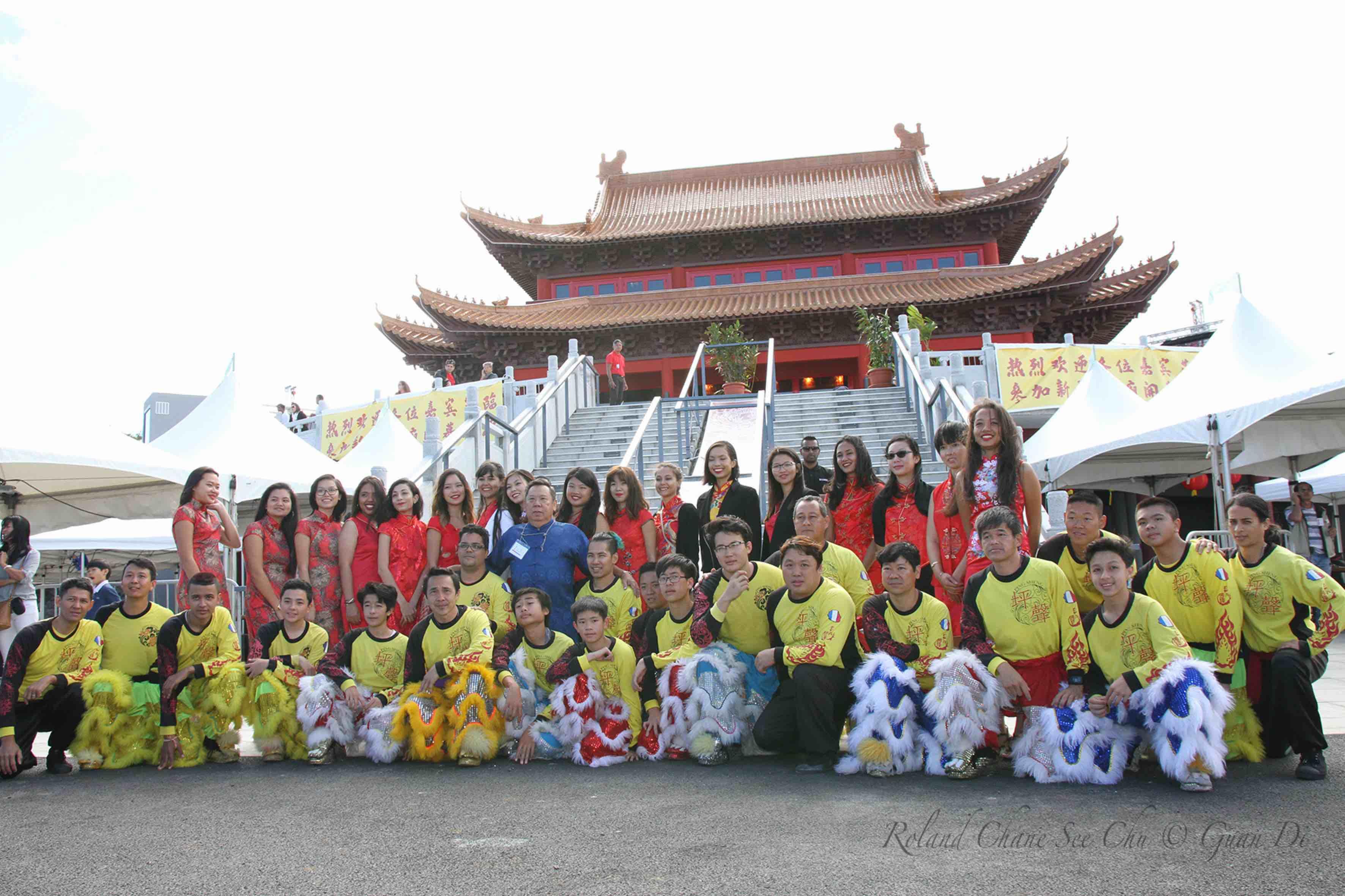 L'association Ping Sheng et les hôtesse