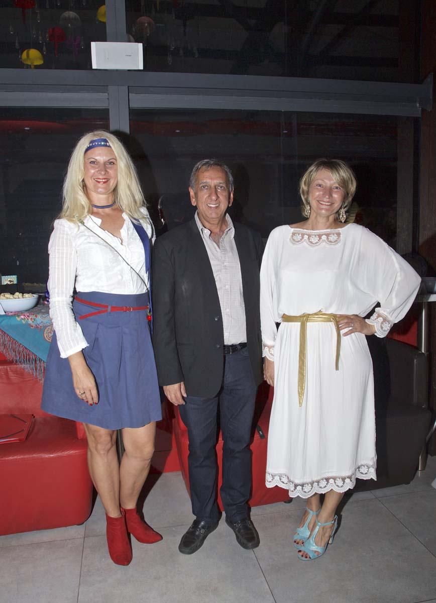 Rasa Miseviciute, Aziz Patel et Natalia Nikitina