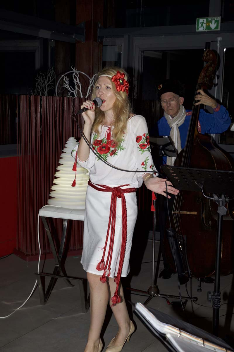 Originale soirée russe...