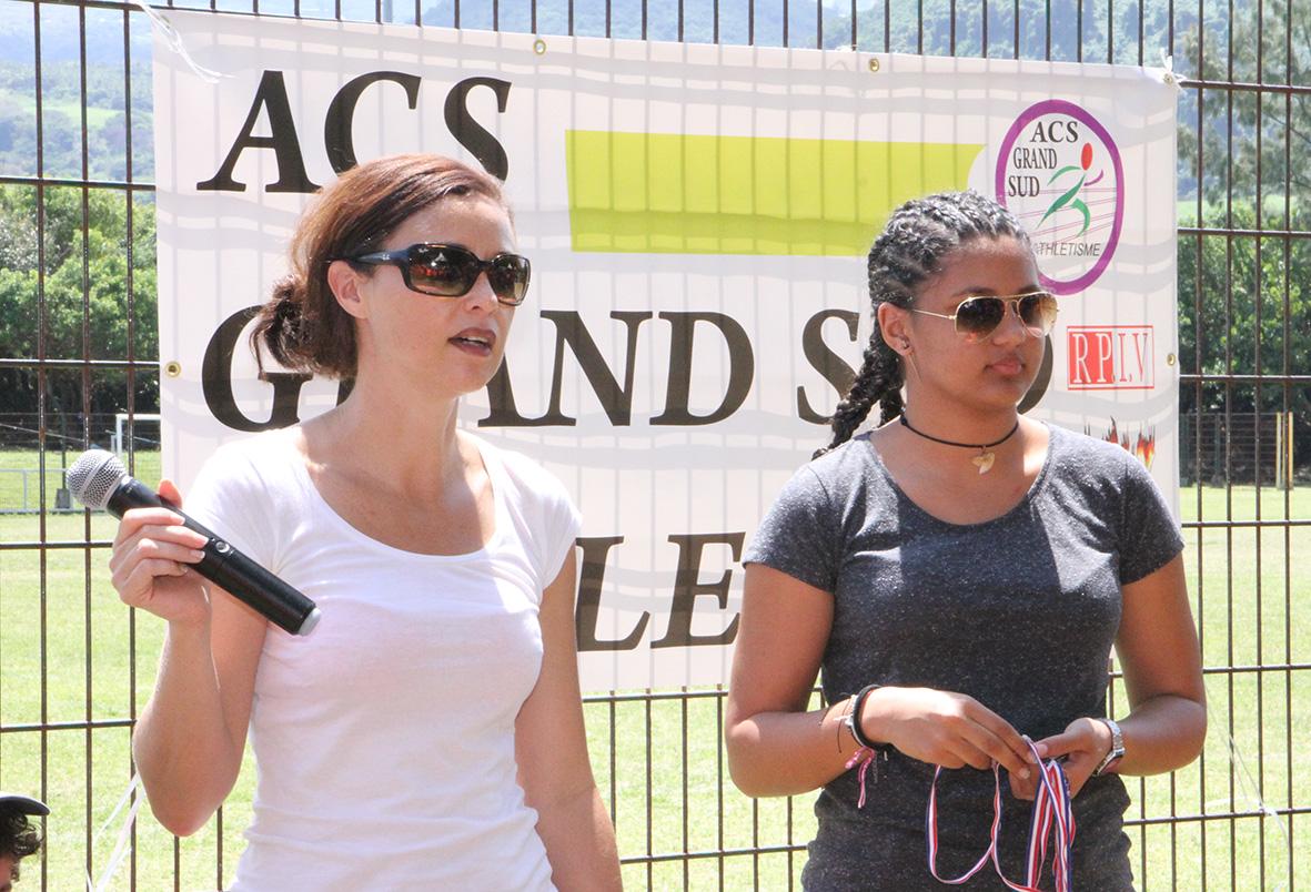 Secrétaire de l'ACSGS, Aurélie Huet a animé toute la manifestation