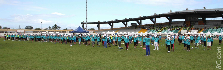 Le Challenge des Seniors, 7ème du nom s'est déroulé dans le stade olympique Julius Bénard à Saint-Paul