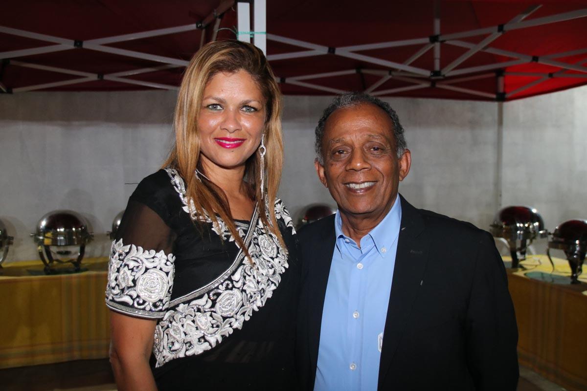 Karine Nabénéza et Gilbert Annette