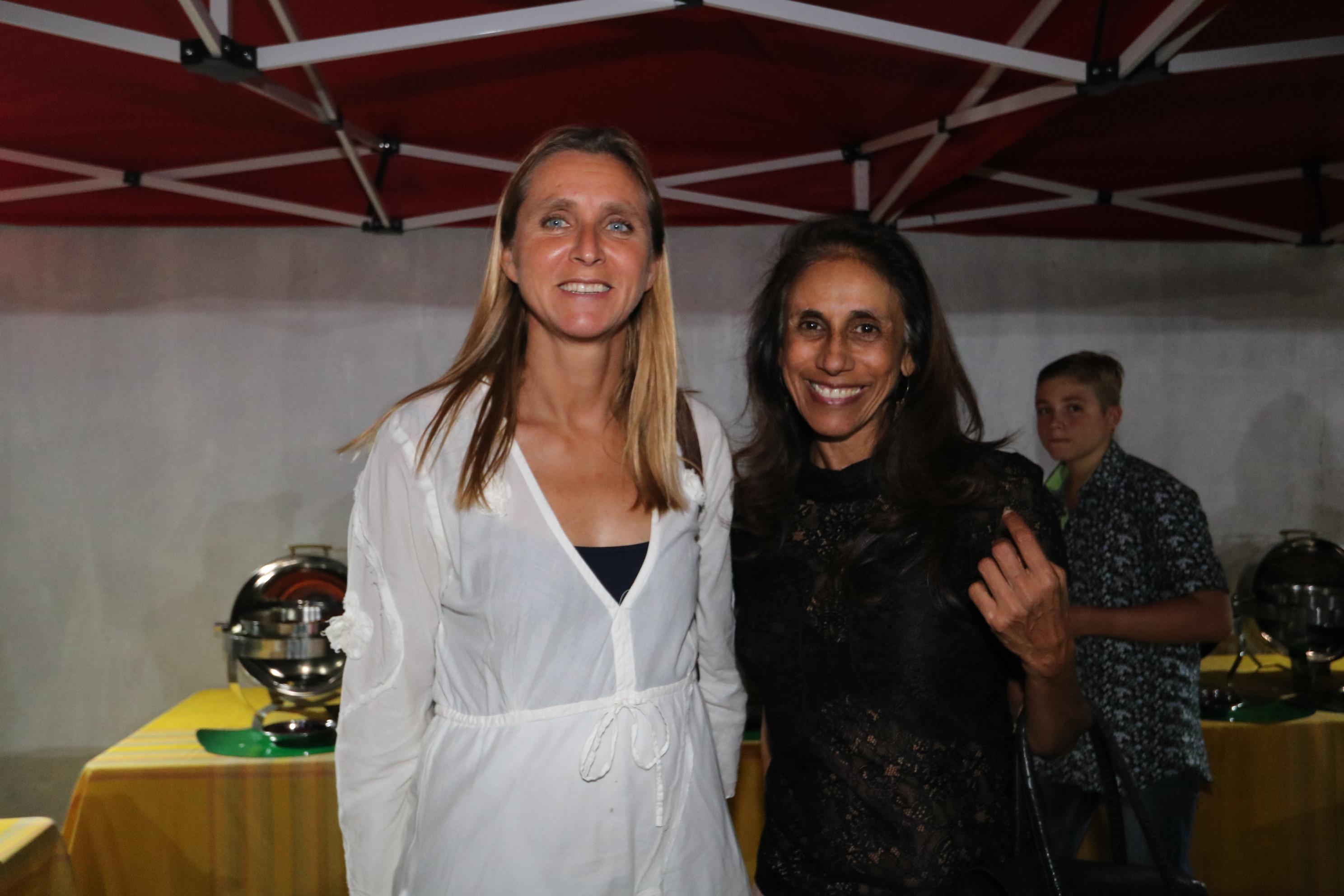 Nathalie Kubicek, conseillère diplomatique adjointe du Préfet, et Docteur Léna Armoudom