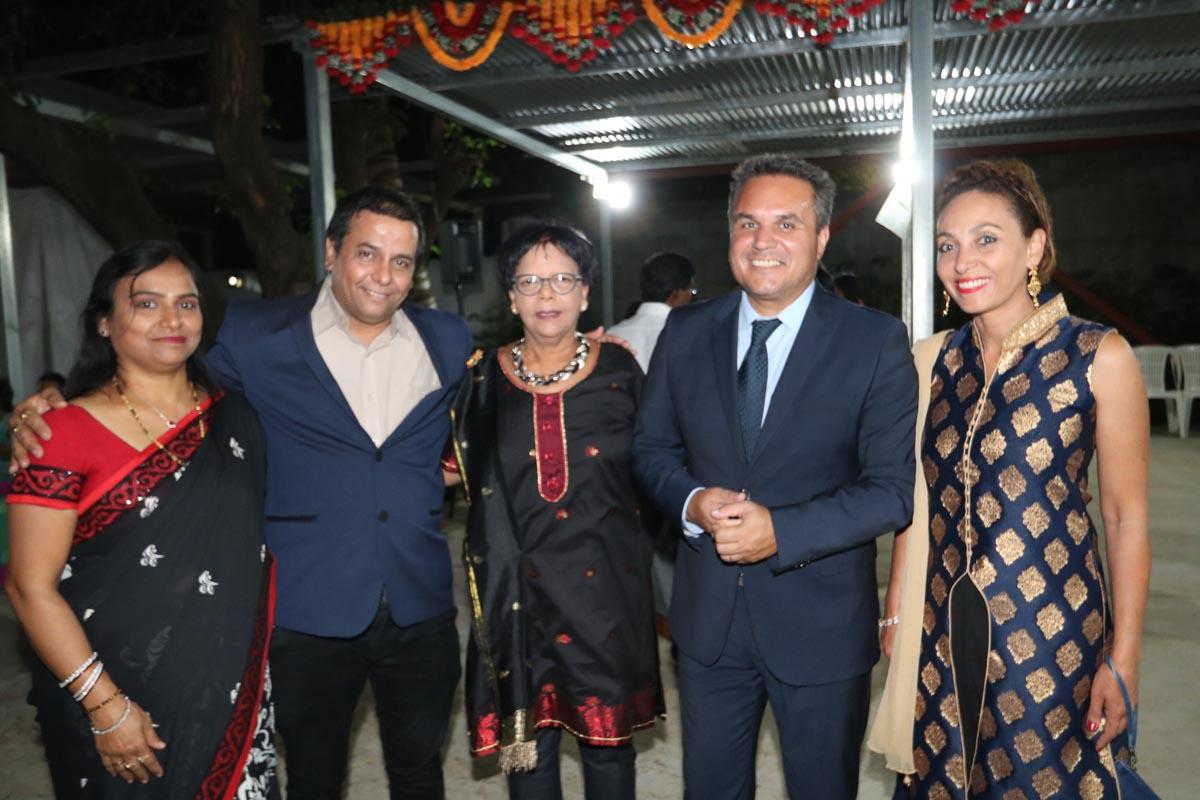Sanjeev Kumar Bhati, Consul de l'Inde, est parti...