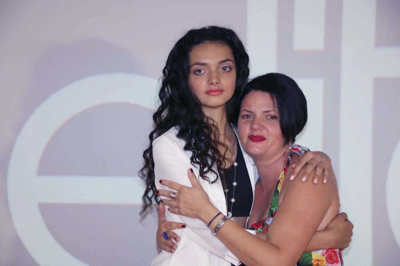 Kiana et sa maman Sandrine