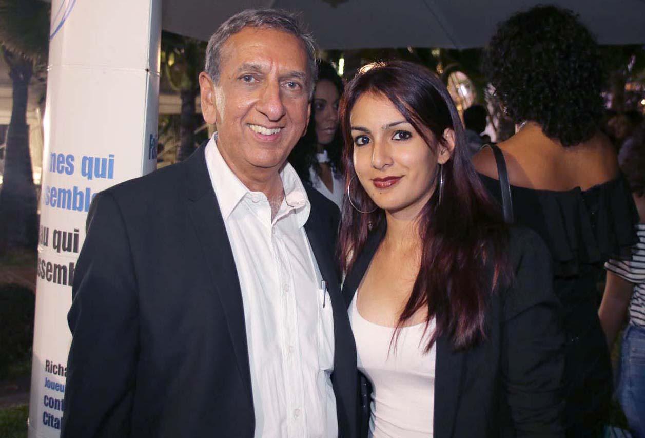 Aziz Patel et Angélique Kenclé
