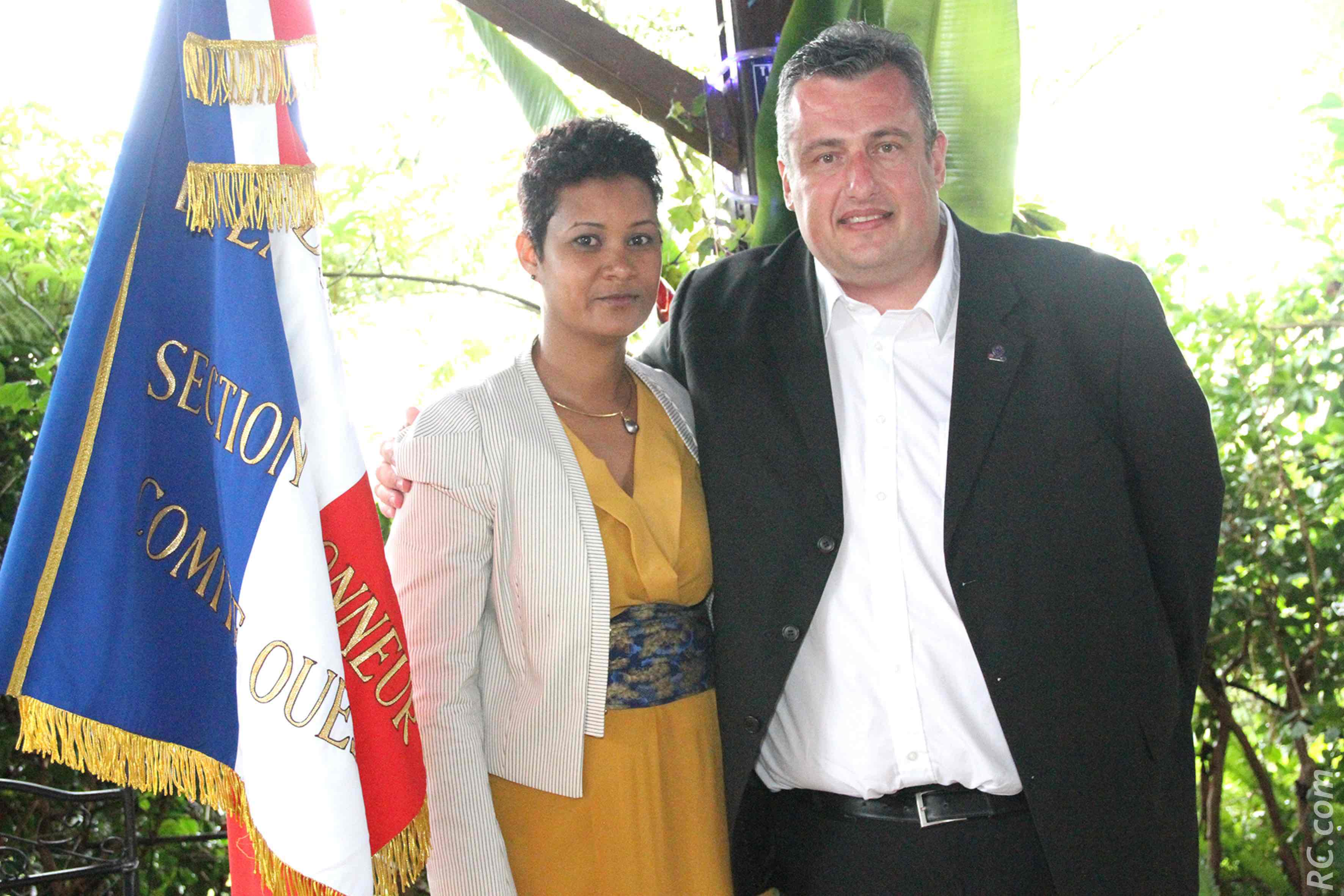 Florence Avaby et Eric Tanguy