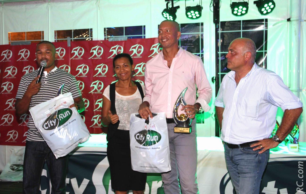 Armand Sautron du Lux et responsable des handisports, Gianni Prévil , handisport et Christophe Babin