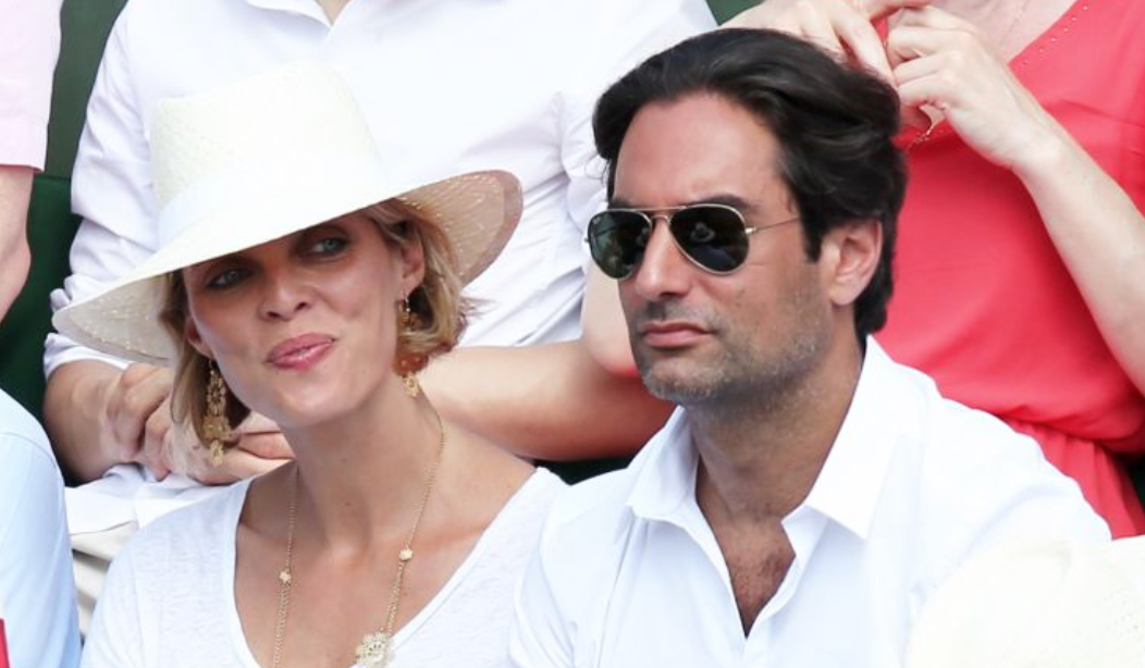 Sylvie et Laurent au tournoi Roland Garros l'année dernière...