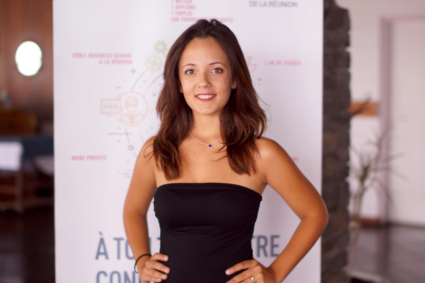 N°1 : Emma Lossy, 19 ans,  Licence Administration Economique et Sociale