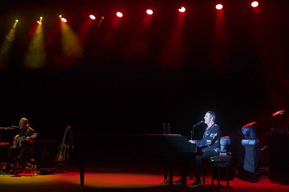 Julien Clerc en concert au Teat Champ Fleuri