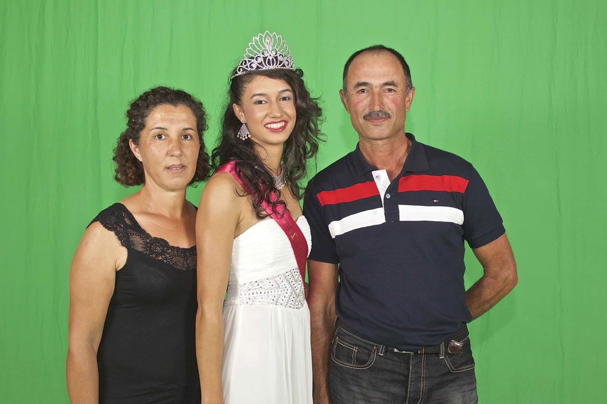 Rachel Nourry et ses parents