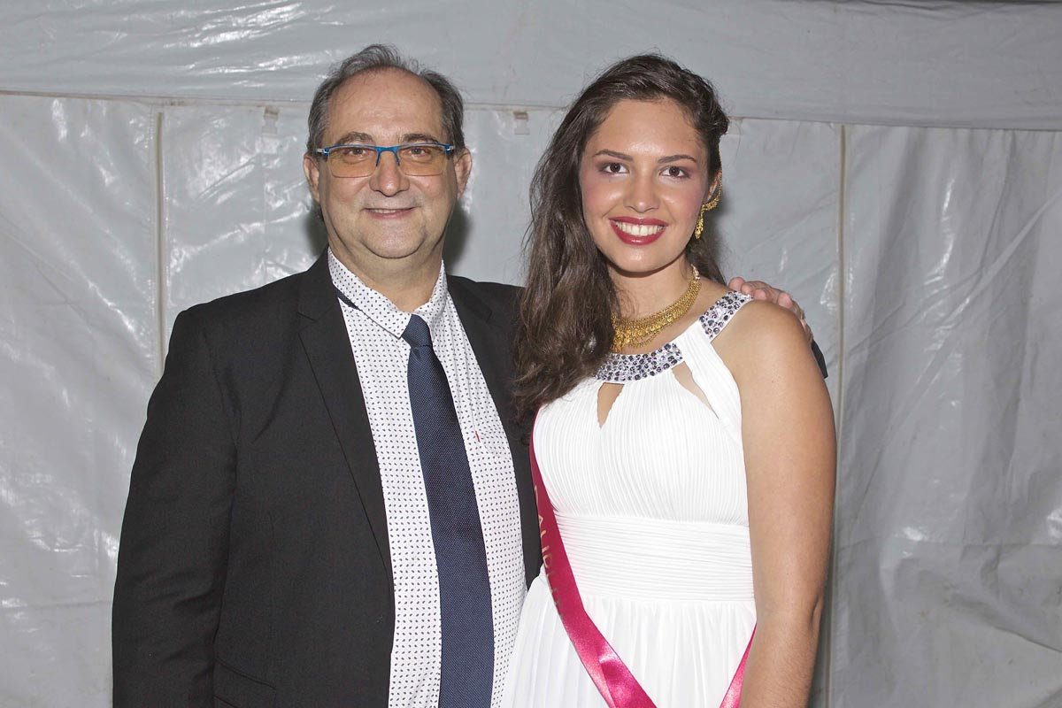 Stéphane Fouassin et Lisa Payet