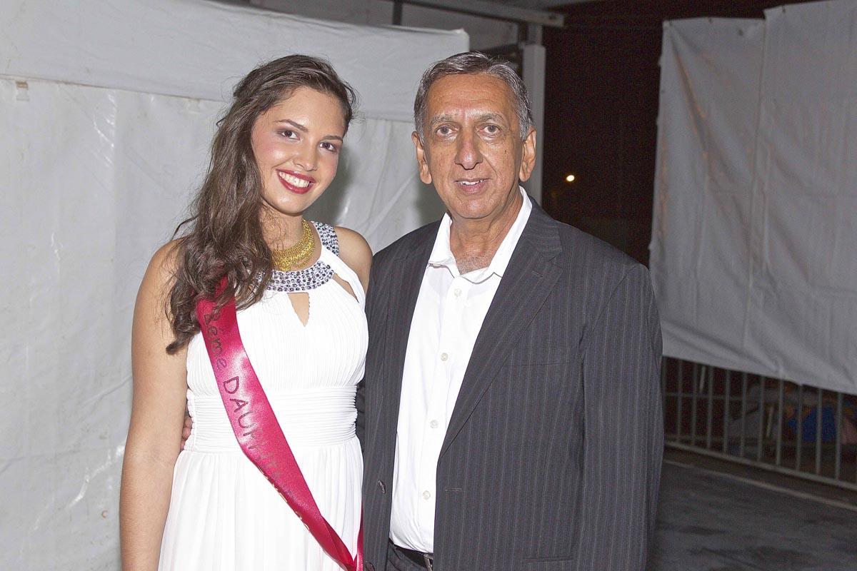 Lisa Payet et Aziz Patel