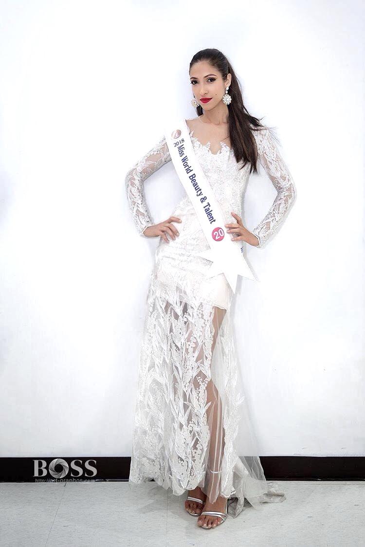 Couronnée Miss Beauty & Talent 2018 fin juin en Corée du Sud