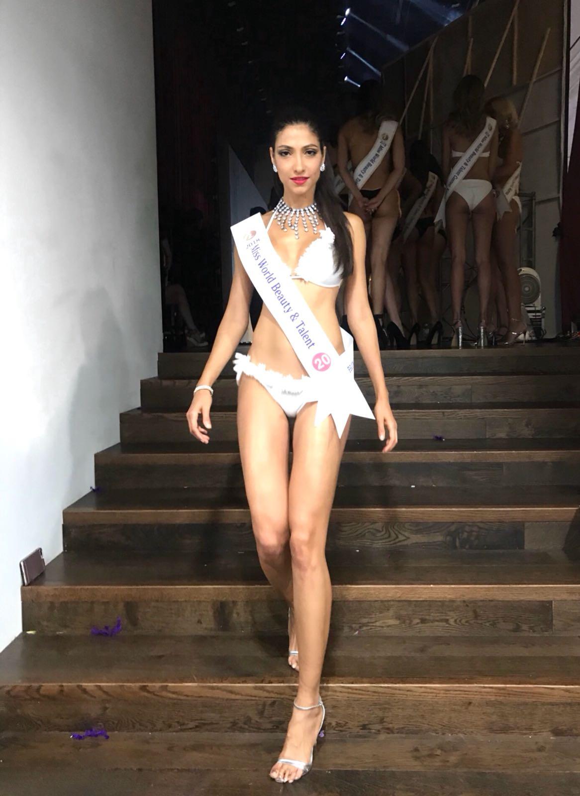 Claudia Carpentier, mannequin, de retour à La Réunion