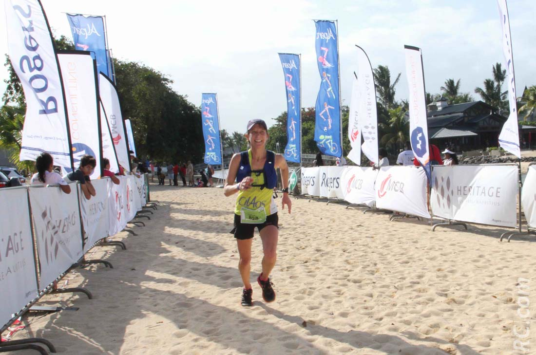 La Cilaosienne Nathalie Percheron est 2ème des 21km