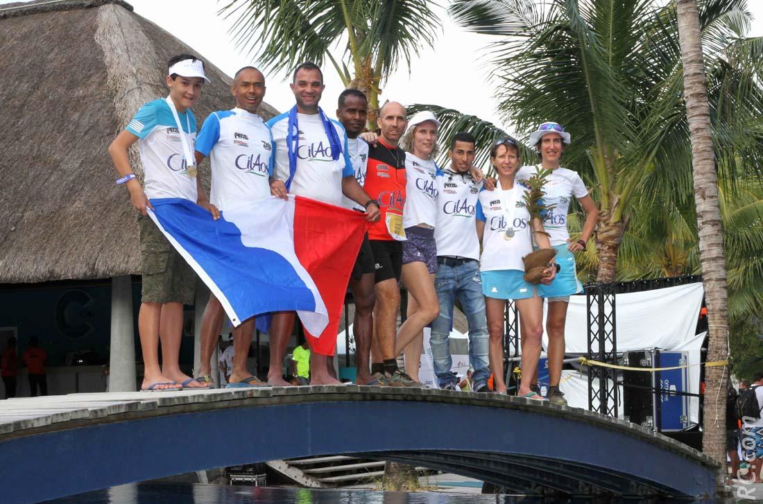 Le Team Cilaos était sur le pont pour cette 3ème édition du Trail Heritage. Avec plusieurs podiums à la clé