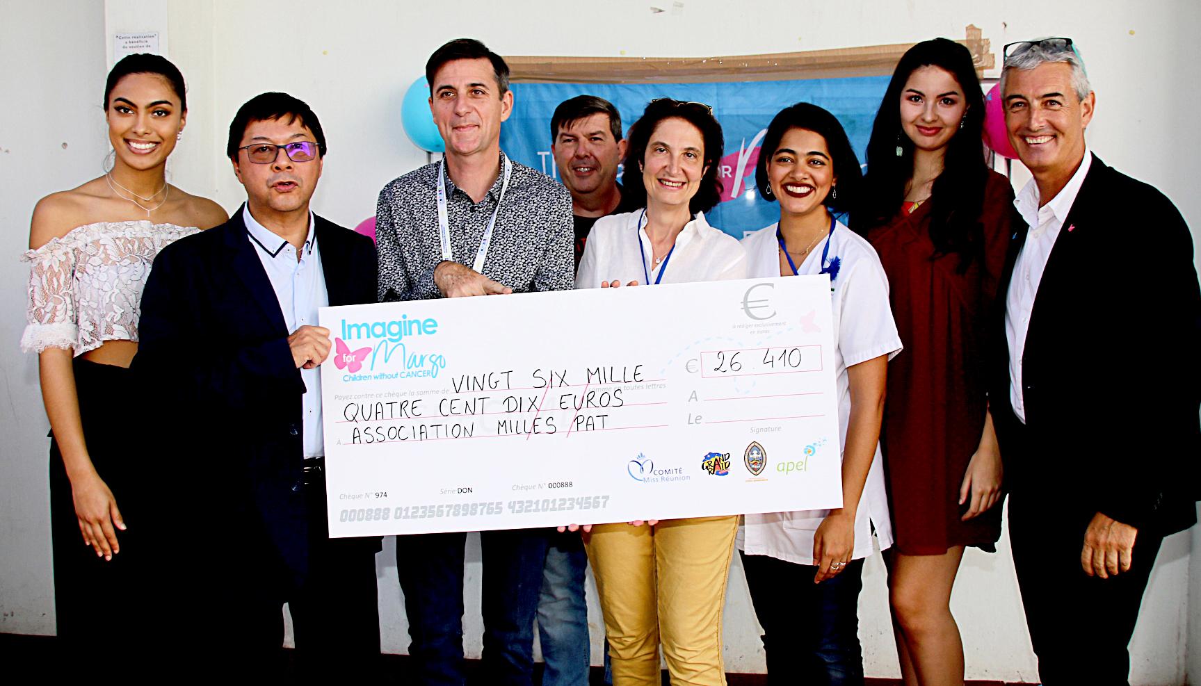 Un chèque destiné à améliorer les conditions de vie des jeunes malades