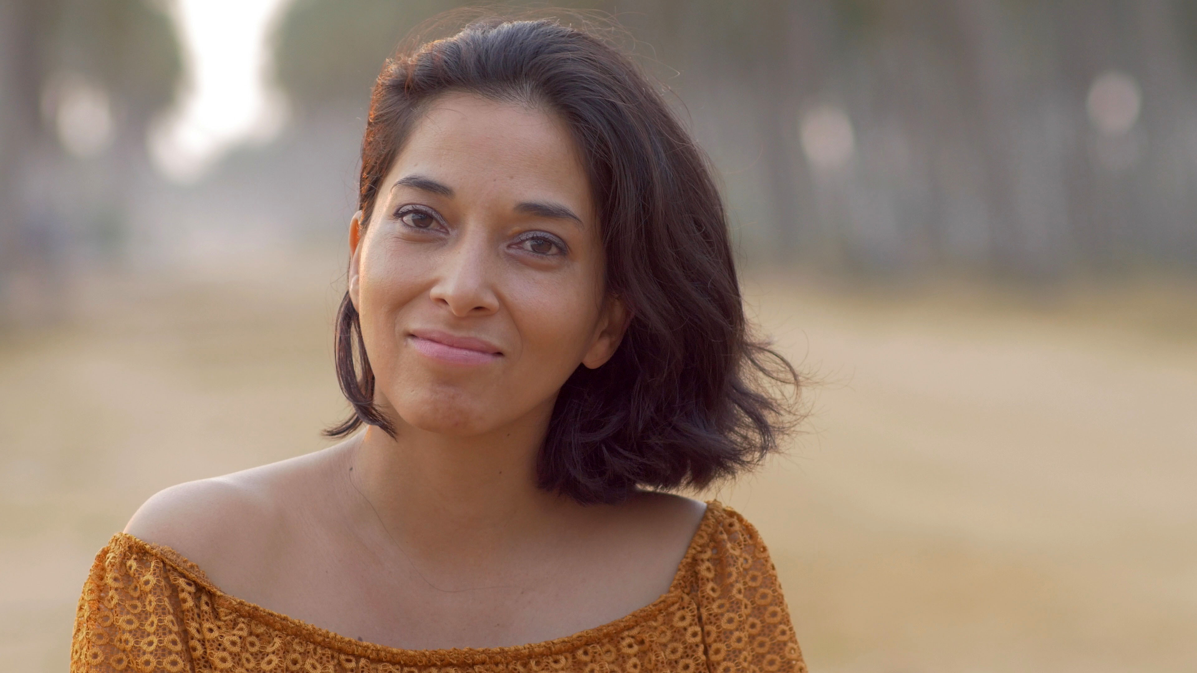 Valérie Chane Tef, passionnée de musique, et heureuse de présenter son album dans son île