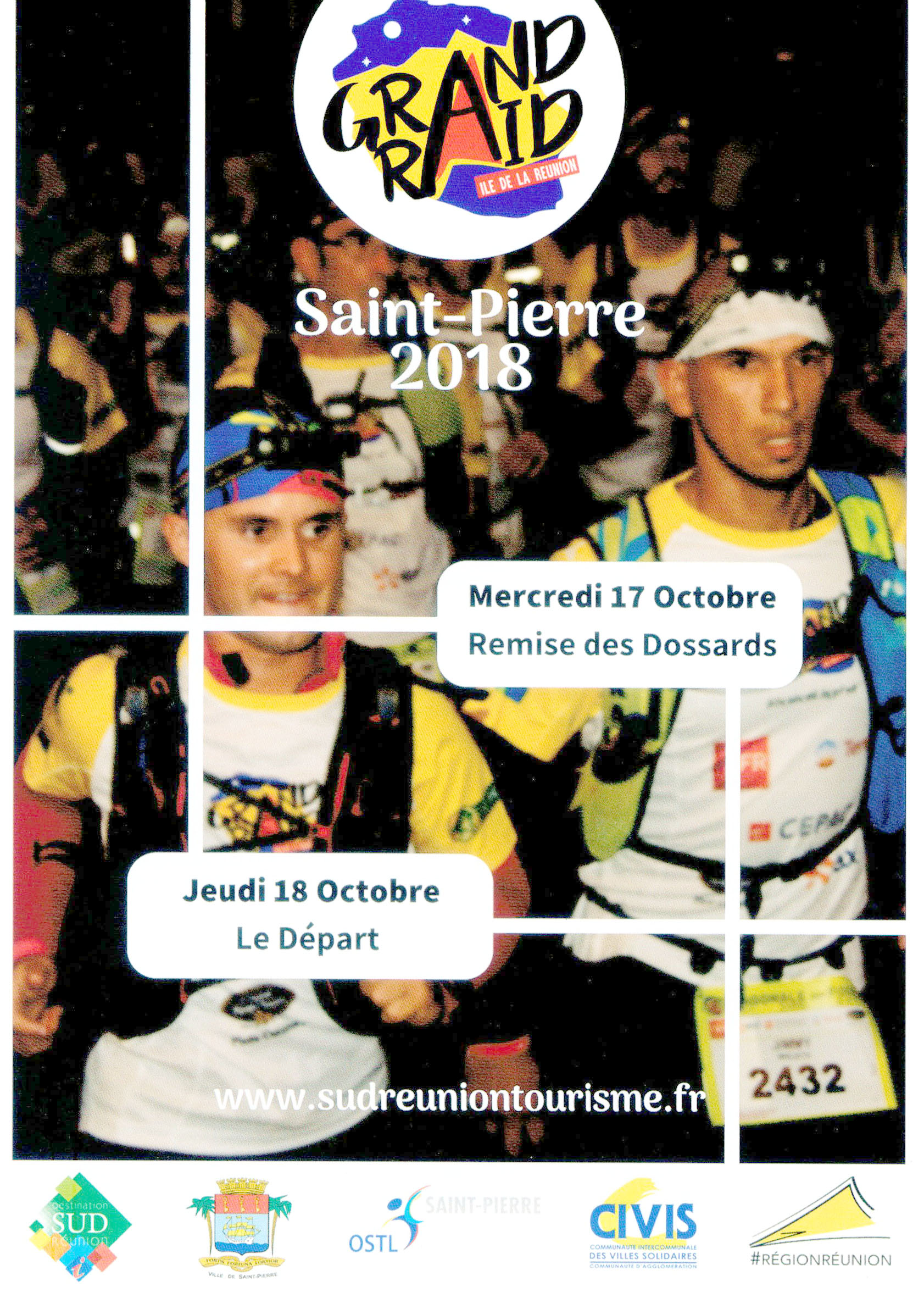 Grand Raid: l'acte 1 à Saint-Pierre